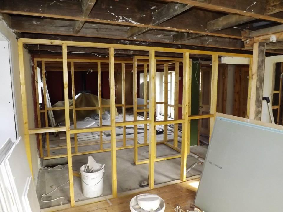 Project in Lochgilphead, rebuilding