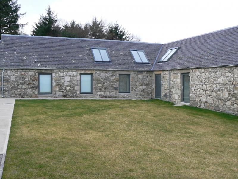 Farm House near Granton on Spey, back