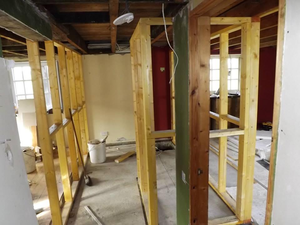 Project in Lochgilphead, rebuild