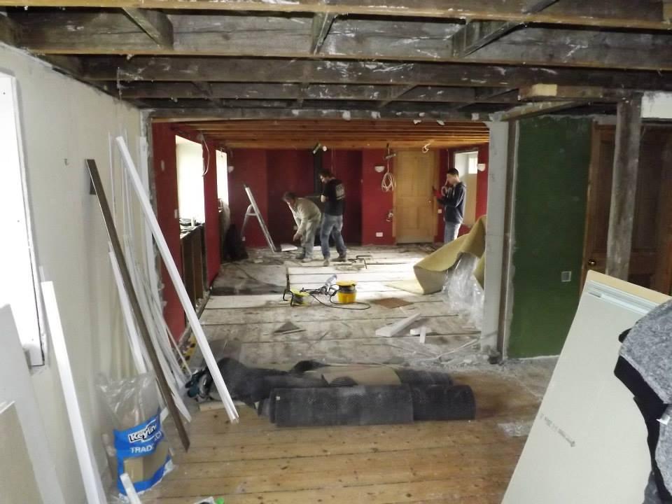 Project in Lochgilphead, demolition