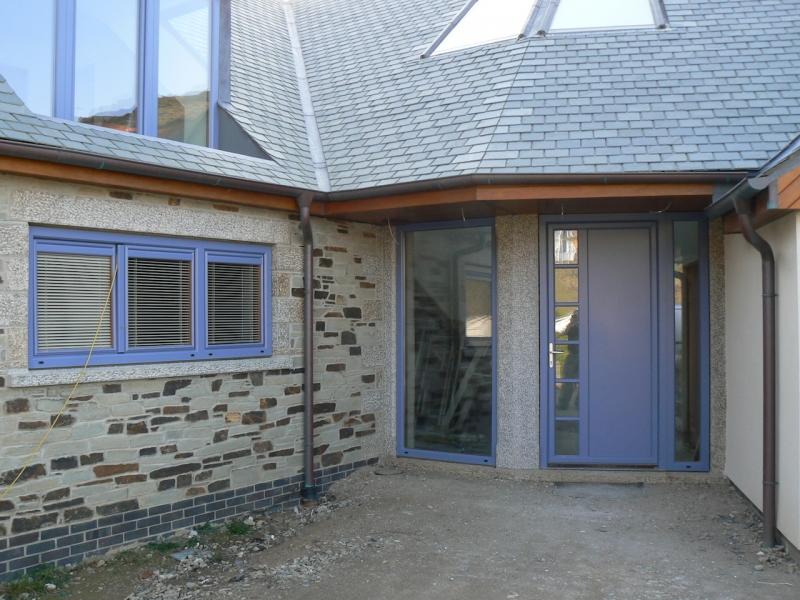 Project in Cornwall, Front Door